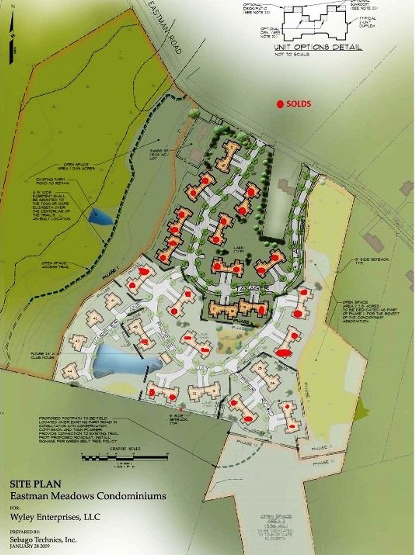 Eastman Meadows Site Plan